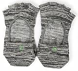 Free Toes Grip Socks for Yoga, Barre, and Pilates, Open-Top