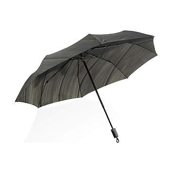 ISAOA Paraguas de Viaje automático, Paraguas Plegable para Gatos, Sombra de Viento, Ultra Ligero, protección UV, asa compacta para fácil Transporte para ...