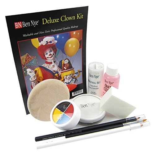 Ben Nye Clown Makeup Kits - Deluxe Whiteface DK-1]()