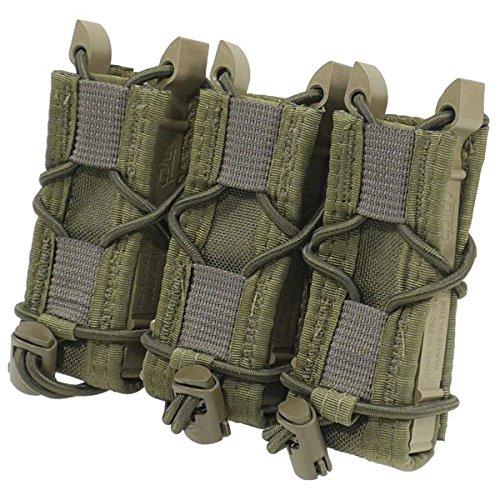 High Speed Gear Triple Pistol Taco Belt Mount Olive Drab 13Pt03Od