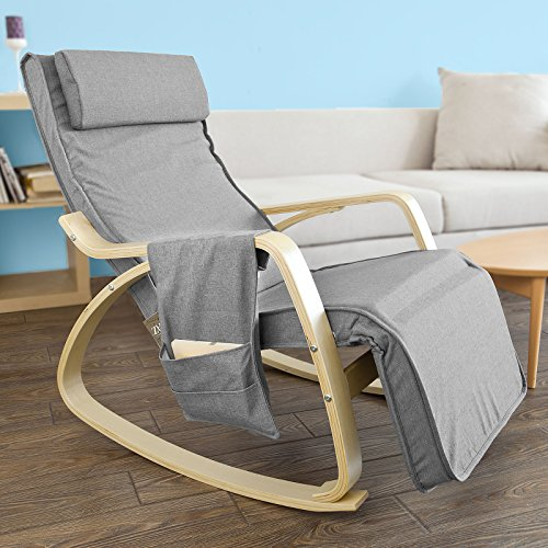 Haotian fortable Relax Rocking Chair Gliders Lounge