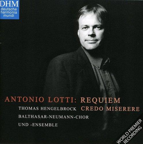Lotti: Requiem in F / Miserere / Credo by Deutsche Harm Mundi