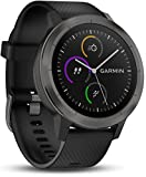 Montre Smart Watch Garmin Vivoactive 3, Black & Gunmetal, 010-01769-10