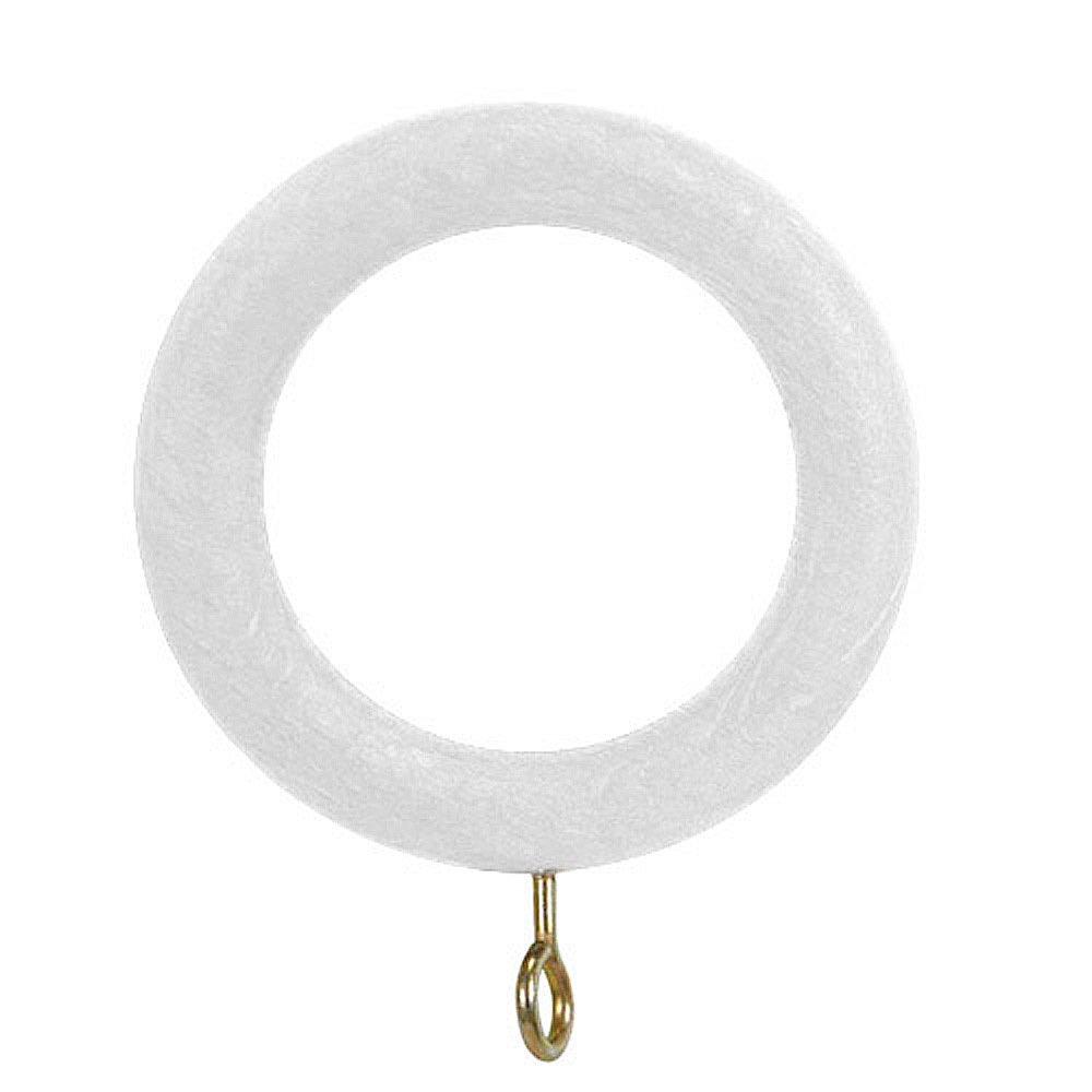 Riel Chyc 5430710–Anello di Legno Lisa con Vite Colore Bianco 29 x 45 mm 5430700