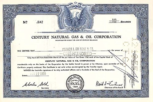 Century Natural Gas & Oil Corp