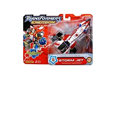 Transformers: Energon Deluxe Powerlinx Storm Jet Action Figure