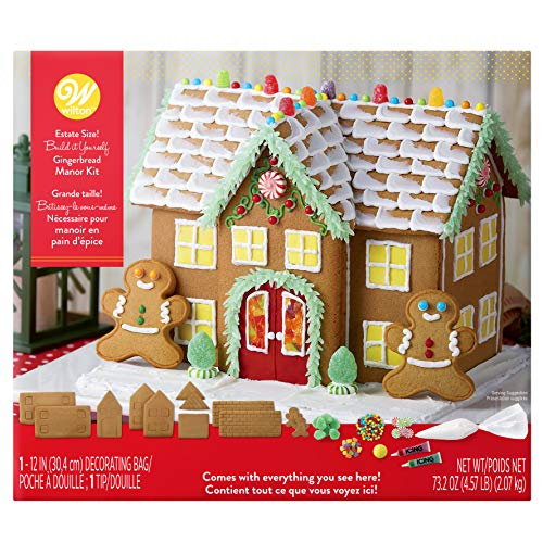 Wilton Build-It-Yourself Gingerbread Manor Decorating Kit