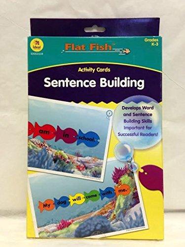 Sentence Building Fish Flash Cards 48 pcs sku# 1902608MA