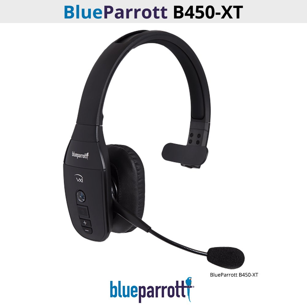 VXi BlueParrott B450-XT 204010 Noise Canceling Bluetooth Headset (Certified Refurbished)