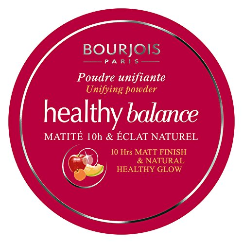 Bourjois Healthy Balance Unifying Compact Powder for Women, 52 Vanille, 0.32 Ounce