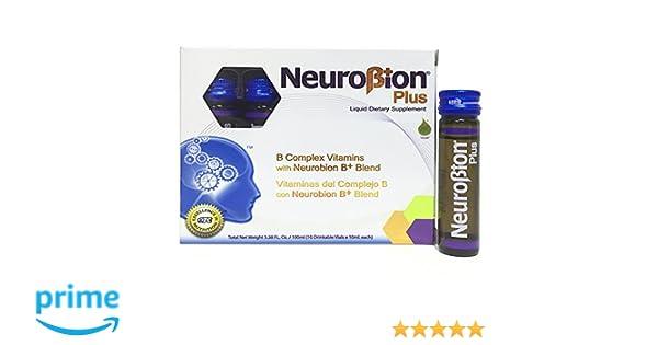 Amazon.com: Neurobion Plus Liquid Dietary Supplement B Complex 10 Vials: Health & Personal Care