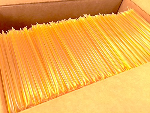 2000 Ct Bulk Box Star Thistle Honey Sticks 100% Pure Honey All Natural Honey Stix Wholesale Honey Unpasteurized Unblended by Sleeping Bear Farms Star Thistle Honey