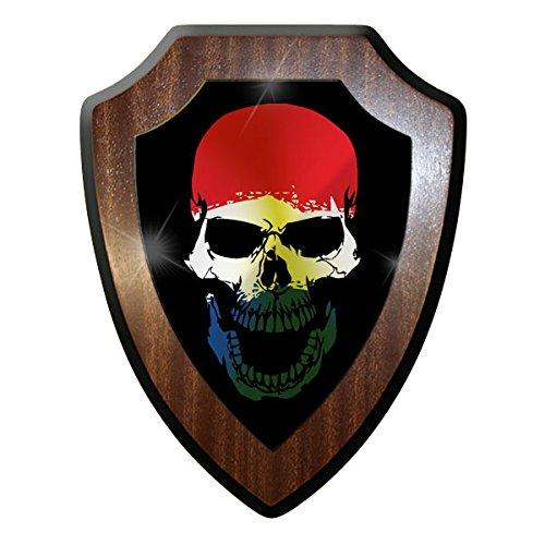 Escudo Cartel/pared Cartel - Países Bajos Holland Skull NETH ...