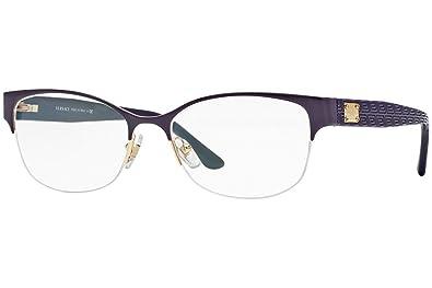 b894dfbab3b Amazon.com  Versace VE1222 Eyeglass Frames 1345-53 - Gold  Shoes