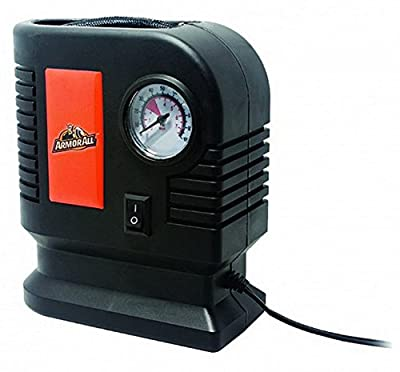 Armor All Tire Inflator - Air Compressor - Pump for Automobile, Car, Truck, Bike, Auto With Pressure Gauge - 12v Portable