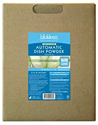 BioKleen 00058 Free and Clear Automatic Dish Powder Box with Natural Oxygen Bleach, 50 lbs