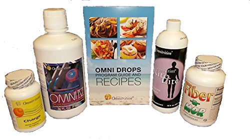 Omni Drops with Vitamin B12, Nite Lite, Fiber N Mor, Omni 4 with Glucosamine, Charge Capsules with Caffeine by Omnitrition by Omnitrition