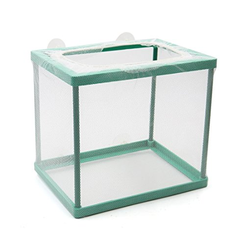 XMHF Nylon Mesh Fish Fry Hatchery Breeder Box Separation Net (Fish Tank Fry Holder)