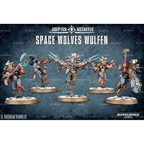 Warhammer 40k Space Wolves Wulfen 2015 by Warhammer