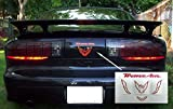 Trans Am Rear Panel Overlay Decal - 93-02 Pontiac Firebird Trans Am - (Color: Reflective Red)