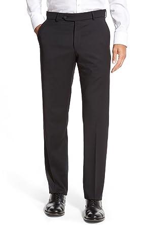 79b0fa0ac8f Ballin Men's Soho Modern Fit Super 120's Wool Dress Pants at Amazon ...