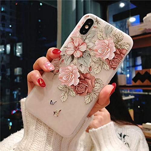 DMMDHR Funda de Silicona para teléfono con Flor 3D para Xiaomi Prime mi 6 8 mi x 2 2 s A1 6X Nota 3 Funda, 3D Relief Flower3, para Xiaomi Mi Mix 2S: Amazon.es: Electrónica
