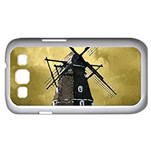 denmark - Watercolor style - Case Cover For Samsung Galaxy S3 i9300 (White)