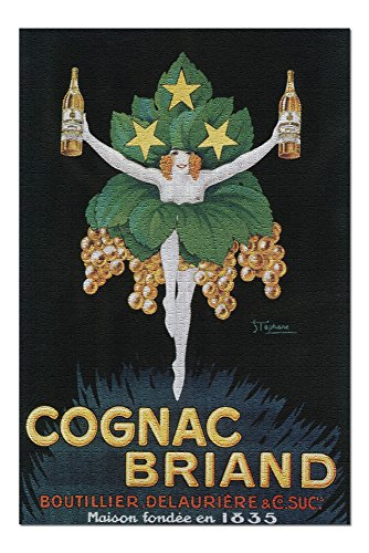 France Cognac - France - Cognac Briand Promotional Poster (20x30 Premium 1000 Piece Jigsaw Puzzle, Made in USA!)