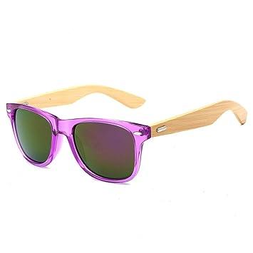 dcd403d132 Gafas de Sol de bambú UV400 - Gafas de Madera Retro Unisex óptica - Gafas de
