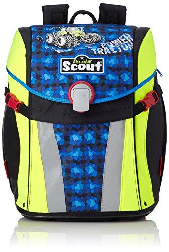 Scout 735107 Sunny Set Kinder-Rucksack, Blau/Schwarz