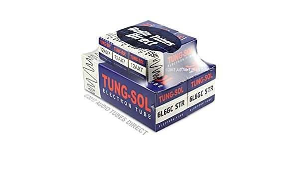 Amazon.com: Tung-Sol Tube Upgrade Kit For Ampeg R12R & R212R Reverberocket Amps 6L6GCSTR 12AX7: Musical Instruments
