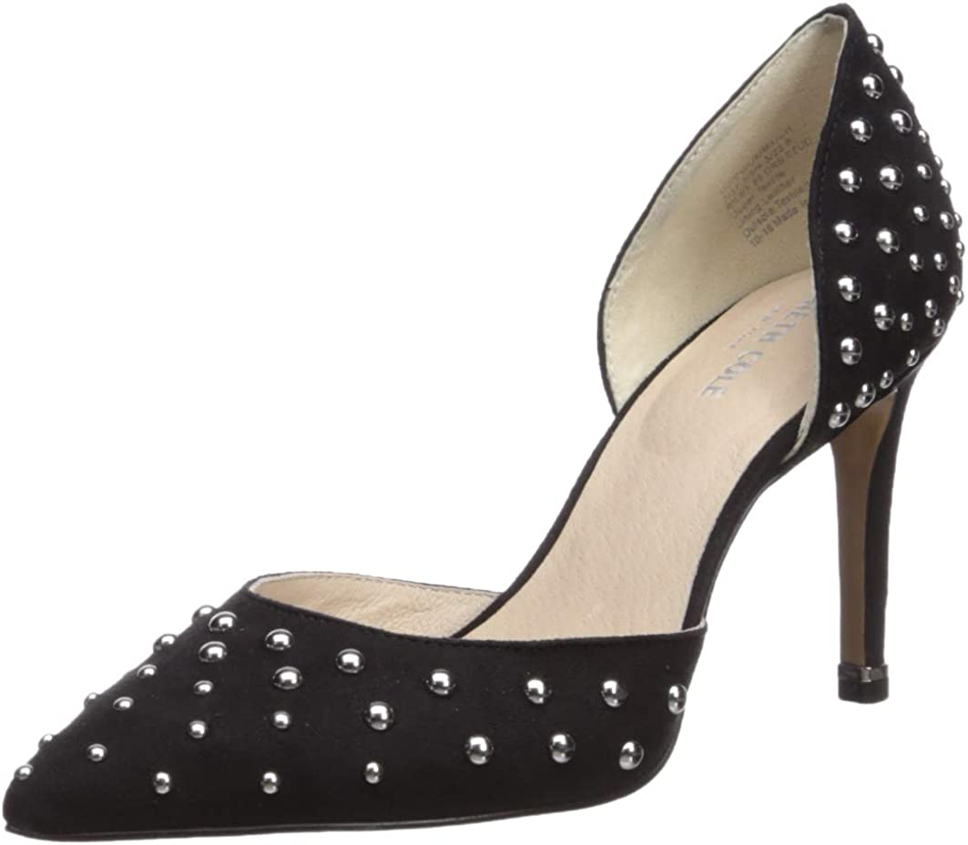 Kenneth Cole New York Women's Riley 85 Mm Studded D'Orsay Pump