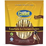 Cadet Chicken And Rawhide Dog Chew Treats, 50 Ct