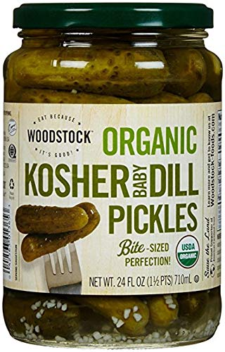 Woodstock Pickles - Kosher Dill - Whole - Case of 6 - 64 fl oz