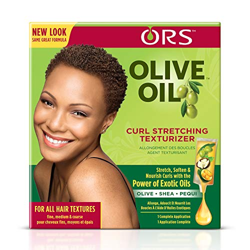 Organic Root Stimulator Olive Oil Curl Stretching Texturizer, Fine/Medium/Coarse (The Best Texturizer For Natural Hair)