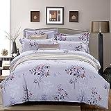 Sucastle Bedding activity Tencel linen four sets moisture breathable environmental health Sucastle:size:220240
