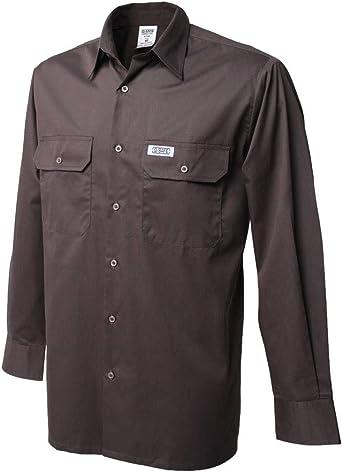 Siwings Camisa Fina de algodón con Bolsillos   Trabajo ...