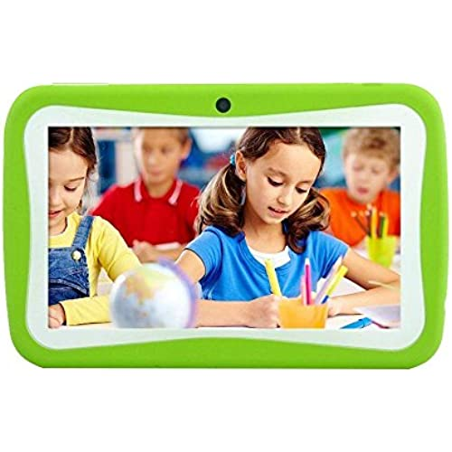 KOBWA M755 Kid Tablet, HD Education Tablet Toy for Toddlers Kids Children 7inch Cortex A9 Quad Core 8GB ROM Wifi Android Pad with Coupons