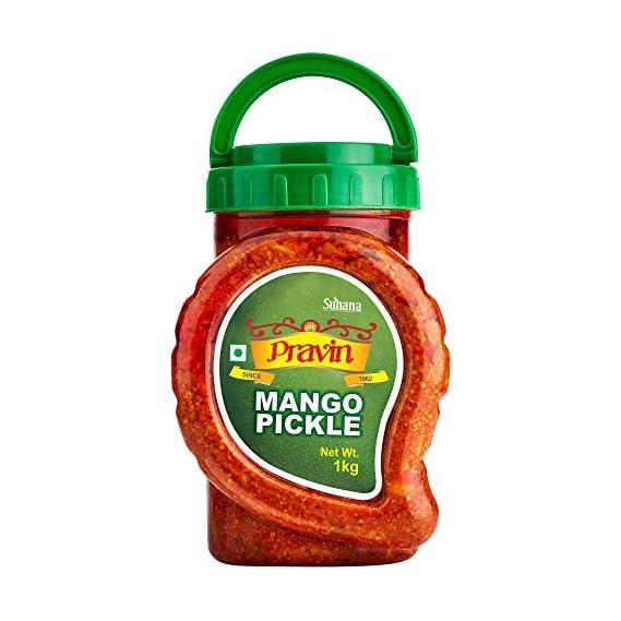 Suhana Pravin Pickles Mango Pickle, 1kg Jar