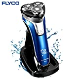 Electric Shaver Wet & Dry With Pop Up Hair Trimmer Razor for Men Rotary 100 Waterproof usb Rechargeable Beard Cordless IPX7 Shavers Quick