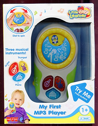 My First Mp3 Player ** Little Learner ** Three Musical Instruments by Little Learner (Image #2)