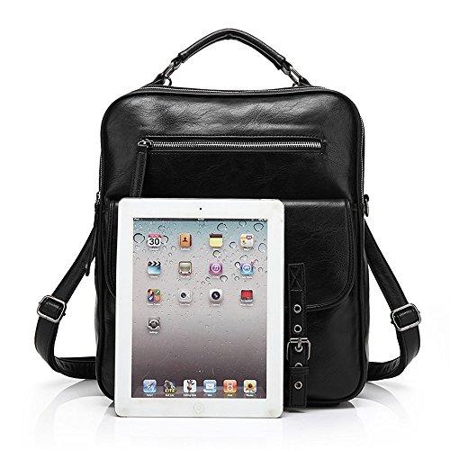 Bag ZeleToile® Leather Brown College Brown Satchel PU Senior Handbag School Multi Shoulder Junior Function Backpack x1rxtw7gq