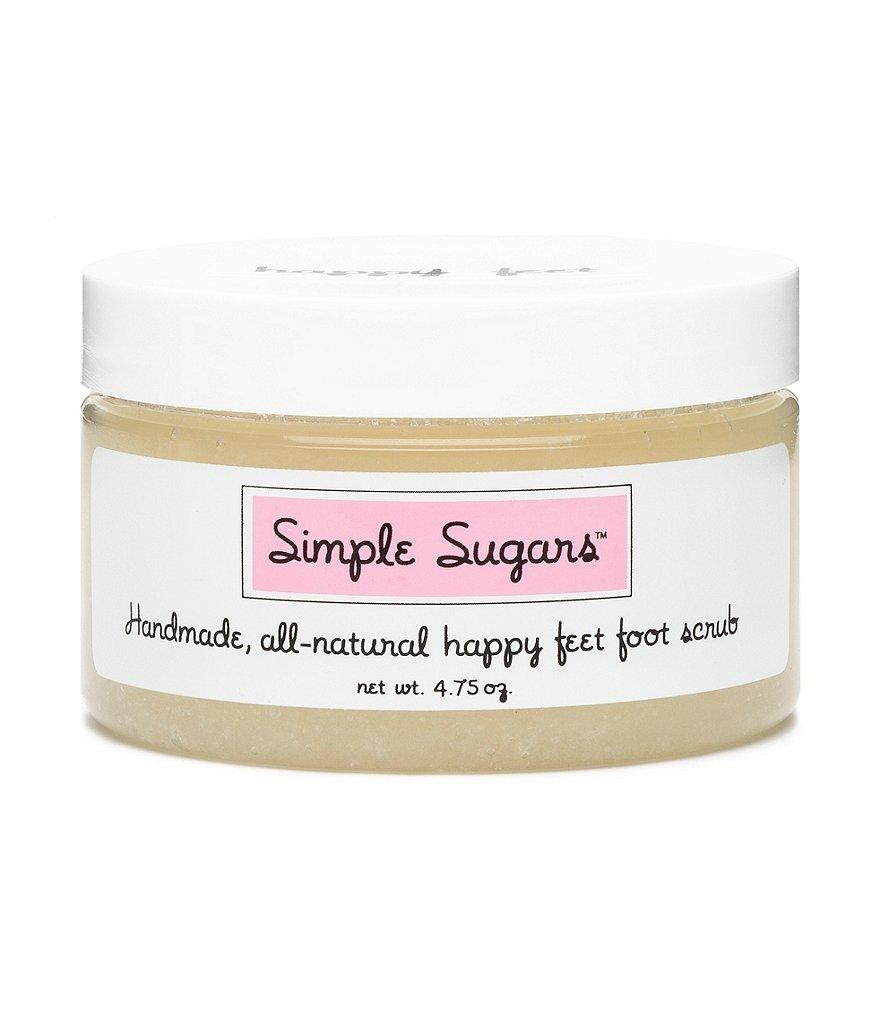 Simple Sugars All All Natural Happy Feet Foot Scrub - Peppermint 4.75oz