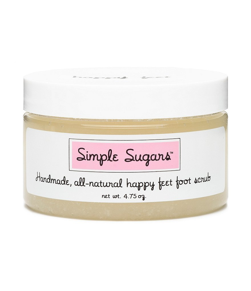 Simple Sugars All All Natural Happy Feet Foot Scrub - Peppermint 4.75oz by Simple Sugars
