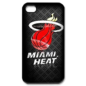 Custom Your Own NBA Miami Heat iPhone 4/4S Case , personalised Miami Heat Iphone 4 Cover