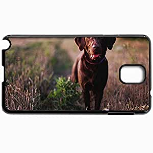 Artzcow Protective Hardshell Back Cover For Samsung Galaxy Note 3 Case Dog Black by icecream design