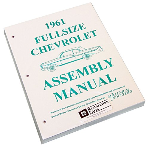 Inline Tube (I-2-15) Factory Assembly Manual for 1961 Chevrolet Full Sized Cars Bel Air, Impala and Wagons by Inline Tube (Image #9)