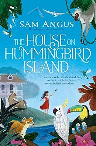 book cover of House on Hummingbird Island