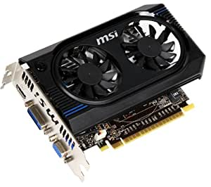 MSI NVIDIA GeForce GT 640 1GB GDDR3 VGA/DVI/HDMI PCI-Express Video Card N640GT-MD1GD3