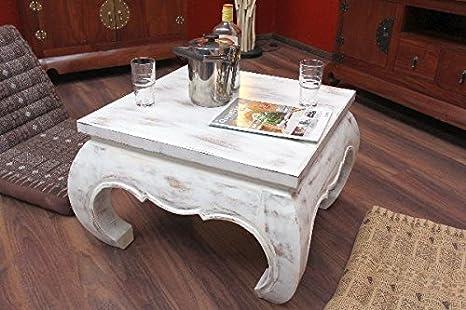Tavolini Da Salotto In Legno Massiccio : Opium tavolo tavolino da salotto legno legno massiccio bianco